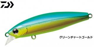 ダイワ ショアラインシャイナーZ セットアッパー 75S グリーンチャートゴールド / ルアー ミノー (メール便可)
