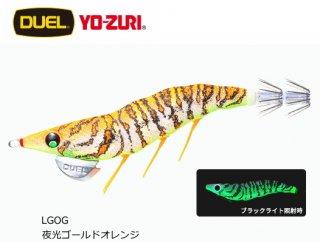 デュエル EZ-Q ダートマスター ラトル 3.5号 LGOG 夜光ゴールドオレンジ / エギング エギ 餌木 (メール便可)