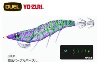 デュエル EZ-Q ダートマスター ラトル 3.5号 LPUP 夜光パープルパープル / エギング エギ 餌木 (メール便可)