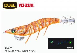 デュエル EZ-Q ダートマスター ラトル 3.5号 BLBW ブルー夜光ゴールドブラウン / エギング エギ 餌木 (メール便可)