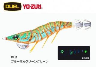 デュエル EZ-Q ダートマスター ラトル 3.5号 BLM ブルー夜光グリーングリーン / エギング エギ 餌木 (メール便可)