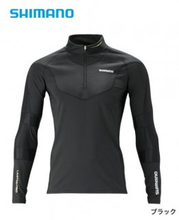 シマノ エキスパートインナーシャツ IN-081S ブラック Lサイズ