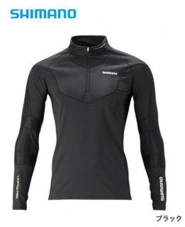 シマノ エキスパートインナーシャツ IN-081S ブラック XL(LL)サイズ(お取り寄せ商品)
