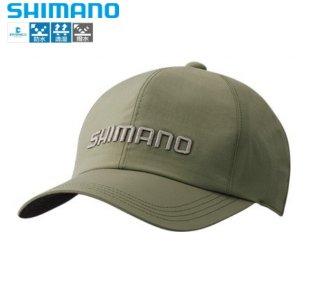 シマノ DSベーシックレインキャップ CA-030S カーキ Sサイズ