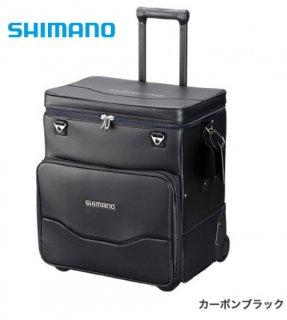 シマノ へらキャリーバッグXT BA-011S カーボンブラック (お取り寄せ商品)