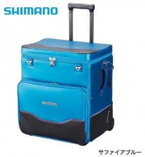 シマノ へらキャリーバッグXT BA-011S サファイアブルー (お取り寄せ商品)