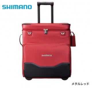 シマノ へらキャリーバッグXT BA-011S メタルレッド (お取り寄せ商品)