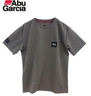 アブガルシア パワードライ ロッキーロゴ速乾ドライTシャツ グレー Mサイズ