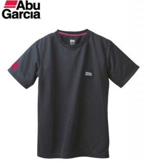アブガルシア パワードライ ロッキーロゴ速乾ドライTシャツ ブラック Mサイズ