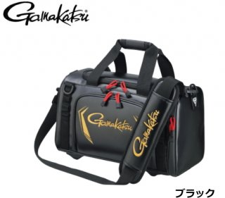 がまかつ タックルボストンバッグ GB-355 ブラック Mサイズ / バッグ (送料無料)