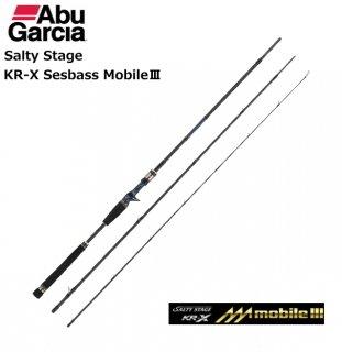 アブガルシア ソルティステージ KR-X シーバス モバイル3 SXSC-903MMH-KR / シーバスロッド