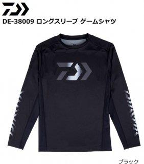 ダイワ DE-38009 ロングスリーブ ゲームシャツ ブラック Lサイズ