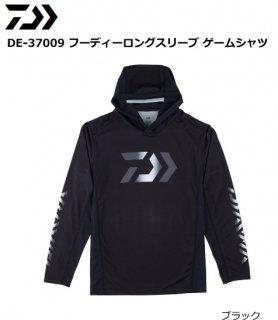 ダイワ DE-37009 フーディーロングスリーブ ゲームシャツ ブラック Lサイズ