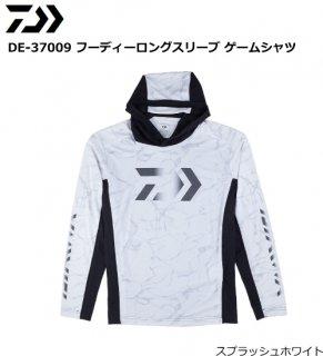 ダイワ DE-37009 フーディーロングスリーブ ゲームシャツ スプラッシュホワイト Lサイズ (お取り寄せ商品)