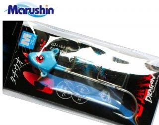 マルシン漁具 ドラゴン タチ魚JOYヘッド 1本針タイプ 夜光ブルー 30g (LLサイズ) / タチウオテンヤ / SALE (メール便可)