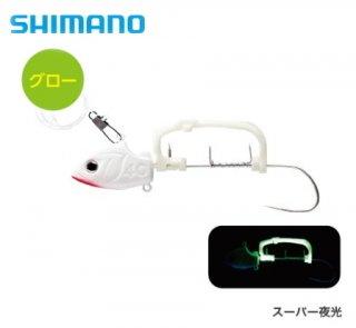 シマノ サーベルマスター 船テンヤ ゲキハヤ PN-UQ1S スーパー夜光 40号 (Lサイズ)