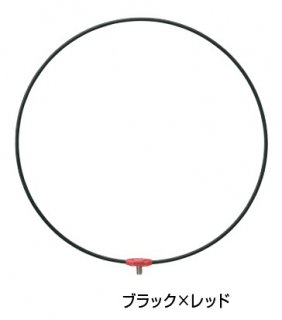がまかつ がま磯 タモ枠 (ワンピース・ジュラルミン) GM-836 ブラック×レッド 45cm (お取り寄せ商品)