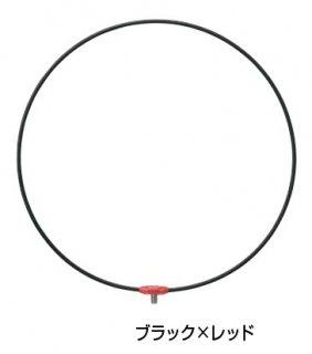 がまかつ がま磯 タモ枠 (ワンピース・ジュラルミン) GM-836 ブラック×レッド 50cm (お取り寄せ商品)