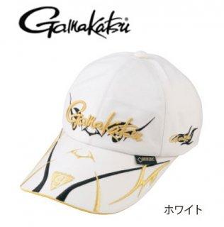 がまかつ ゴアテックス(R) ロングバイザーキャップ GM-9860 ホワイト Lサイズ / 帽子