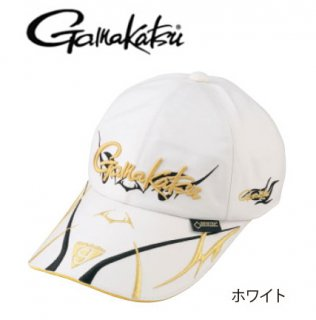 がまかつ ゴアテックス(R) ロングバイザーキャップ GM-9860 ホワイト Mサイズ / 帽子(お取り寄せ商品)