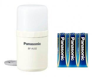 パナソニック 乾電池エボルタNEO付き LEDランタン BF-AL02K ホワイト / LEDランタン