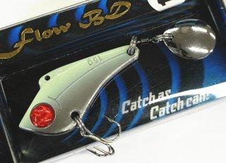 スピンテールバイブ マルシン漁具 フローBD 21g メタリックシルバーグロー / ルアー / SALE (メール便可)