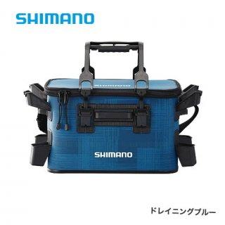 シマノ ロッドレスト タックルバッグ (ハードタイプ) BK-021R ドレイニングブルー 27L2 / タックルバッグ