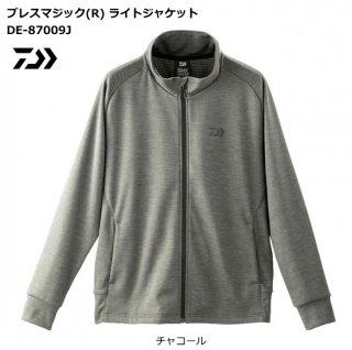【冬物セール 50%OFF】 ダイワ ブレスマジック【R】 ライトジャケット DE-87009J チャコール 2XL【3L】サイズ / 防寒ウェア