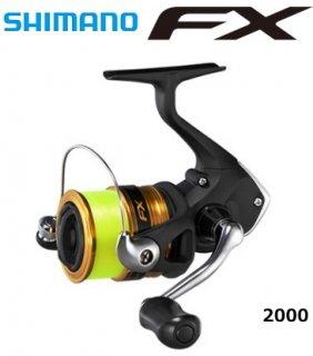 シマノ 19 エフエックス FX 2000 2号糸付き / スピニングリール