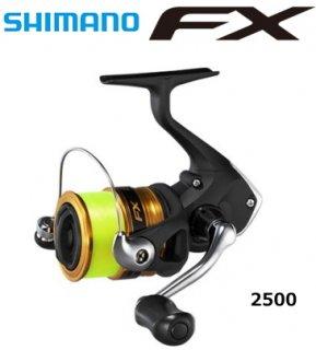 シマノ 19 エフエックス FX 2500 2.5号糸付き / スピニングリール