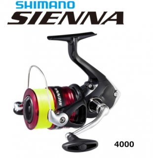 シマノ 19 シエナ 4000 4号糸付き / スピニングリール