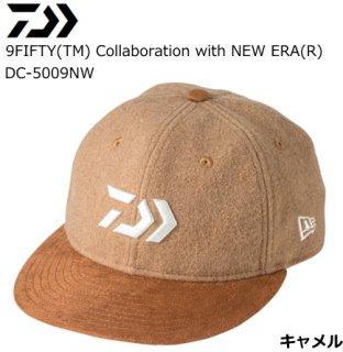 ダイワ 9FIFTY(TM) Collaboration with NEW ERA(R) DC-5009NW キャメル フリーサイズ / 帽子