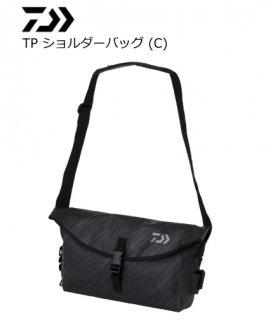 ダイワ TP ショルダーバッグ (C) ブラックカモフラージュ
