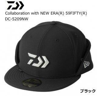 ダイワ Collaboration with NEW ERA(R) 59FIFTY(R) DC-5209NW ブラック 7 3/8 / 帽子