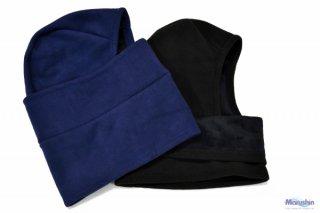マルシン漁具 防寒撥水ニット帽 紺 / 帽子