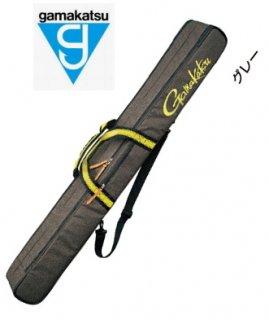 がまかつ ウルトラライトロッドケース (2層) GC-282 グレー (お取り寄せ商品) (大型商品 代引不可)