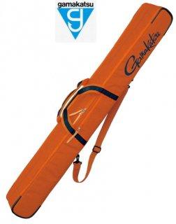 がまかつ ウルトラライトロッドケース (2層) GC-282 オレンジ (お取り寄せ商品) (大型商品 代引不可)