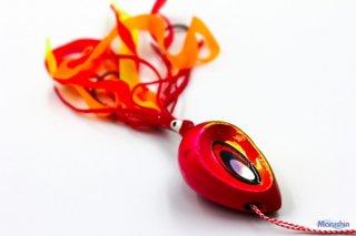 マルシン漁具 ドラフトスライド ピンクゴールド 75g / 鯛ラバ タイラバ (メール便可) 【本店特別価格】