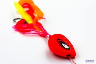 マルシン漁具 ドラフトスライド オレンジゴールドラメ 75g / 鯛ラバ タイラバ (メール便可) 【本店特別価格】