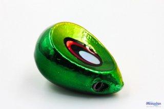 マルシン漁具 スペアレッド メタリックグリーンゴールド 105g / 鯛ラバ タイラバ (メール便可)