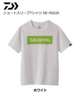 【セール】 ダイワ 20 ショートスリーブTシャツ DE-95020 ホワイト Mサイズ