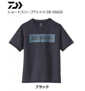 【セール】 ダイワ 20 ショートスリーブTシャツ DE-95020 ブラック XL(LL)サイズ
