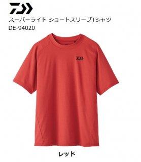 【セール】 ダイワ 20 スーパーライト ショートスリーブTシャツ DE-94020 レッド 2XL(3L)サイズ