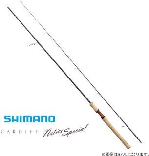 シマノ 19 カーディフ ネイティブスペシャル S83ML / トラウトロッド (O01) (S01) 【本店特別価格】