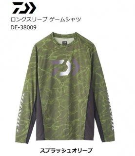 【セール 40%OFF】 ダイワ 20 ロングスリーブ ゲームシャツ DE-38009 スプラッシュオリーブ 2XL(3L)サイズ