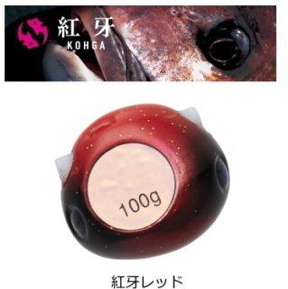 ダイワ 20 紅牙 ベイラバー フリー TG α ヘッド 紅牙レッド 250g / タイラバ 鯛ラバ 【本店特別価格】