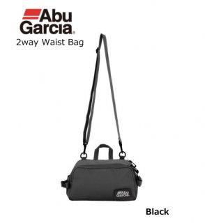アブガルシア 2wayウエストバッグ ブラック 【本店特別価格】