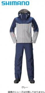 シマノ DSアドバンススーツ RA-025S グレー XL(LL)サイズ / レインウェア (S01) (O01) (送料無料) 【本店特別価格】