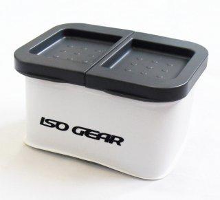 イソギア (ISO GEAR) エサバケット2 ホワイト / エサ箱 【本店特別価格】