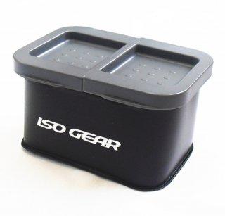 イソギア (ISO GEAR) エサバケット2 ブラック / エサ箱 【本店特別価格】